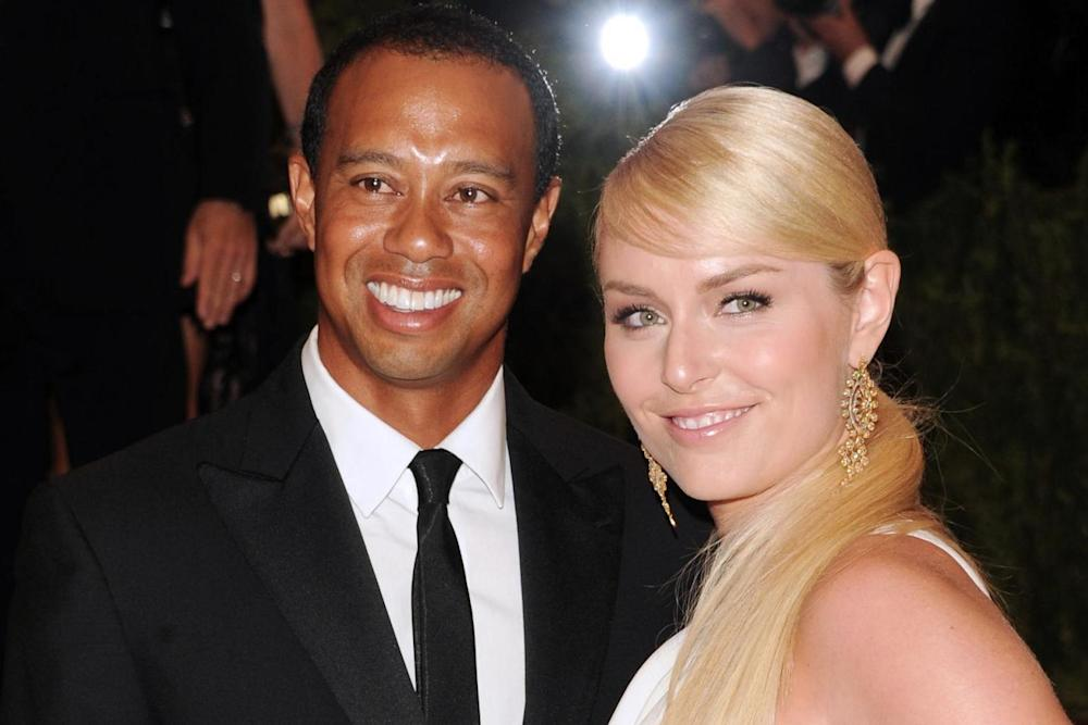 Victims: Tiger Woods and his ex-girlfriend, Olympic skier Lindsey Vonn, who said the photos were on her phone: Evan Agostini/Invision/AP