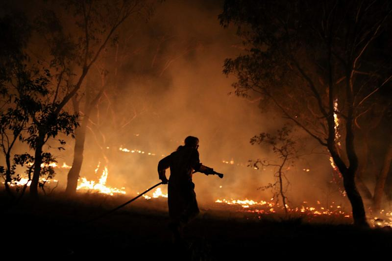 Massive rainfall amounts could extinguish many of Australia's wildfires
