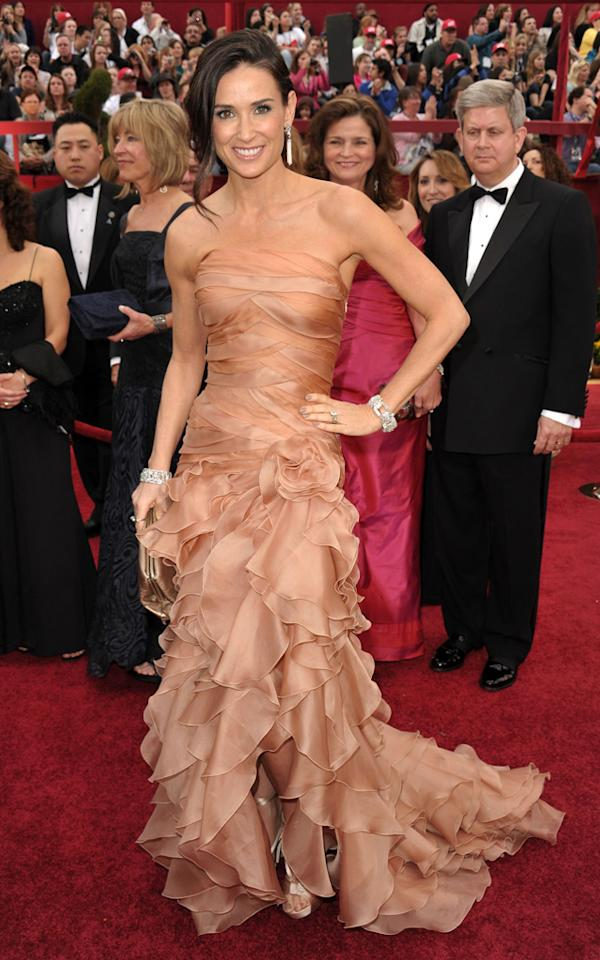 Demi Moore arrives at the 82nd Annual Academy Awards held at Kodak Theatre on March 7, 2010 in Hollywood, California.