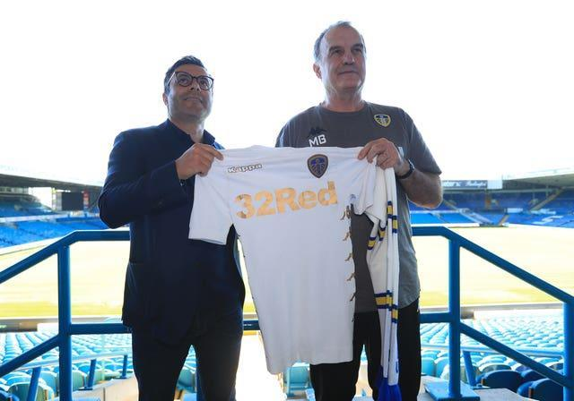 Marcelo Bielsa was brought to Leeds by club owner Andrea Radrizzani