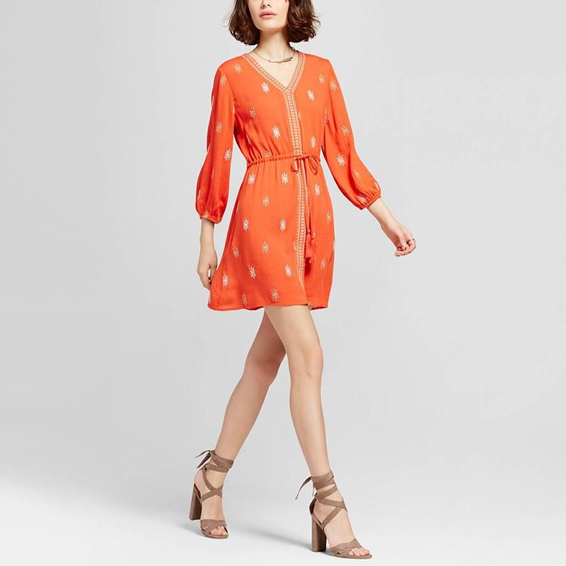 """<p><p><a rel=""""nofollow"""" href=""""http://rstyle.me/n/cqdxqnjduw"""">Blu Pepper Tribal Print Tie Waist Dress</a>, $40</p>                                                                                                                                                                           <p>     <strong>Related Articles</strong>     <ul>         <li><a rel=""""nofollow"""" href=""""http://thezoereport.com/fashion/style-tips/box-of-style-ways-to-wear-cape-trend/?utm_source=yahoo&utm_medium=syndication"""">The Key Styling Piece Your Wardrobe Needs</a></li><li><a rel=""""nofollow"""" href=""""http://thezoereport.com/beauty/skincare/salma-hayek-antiaging-scrub-video/?utm_source=yahoo&utm_medium=syndication"""">Salma Hayek's Favorite Antiaging Trick Will Cost You Almost Nothing</a></li><li><a rel=""""nofollow"""" href=""""http://thezoereport.com/living/wellness/marriage-affect-on-health-study/?utm_source=yahoo&utm_medium=syndication"""">Marriage Isn't As Good For You As It Used To Be, Study Says</a></li>    </ul> </p>"""