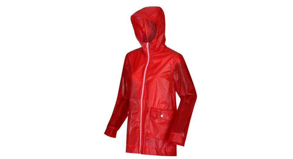 Women's Takala Rubberised Waterproof Raincoat Jacket