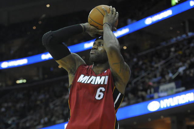 LeBron James says he needs to re-adjust to playing with Dwyane Wade
