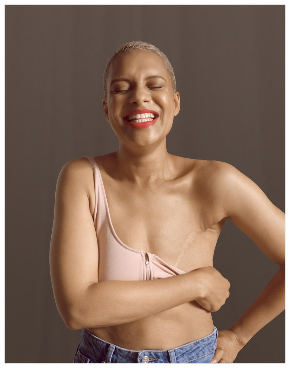 The collection is Primark's first collection designed by and for those who have experienced breast cancer. (Primark)