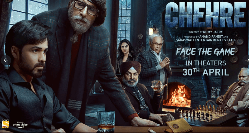 Poster for <i>Chehre</i>
