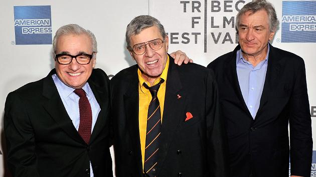 'The King of Comedy' team at Tribeca on Saturday