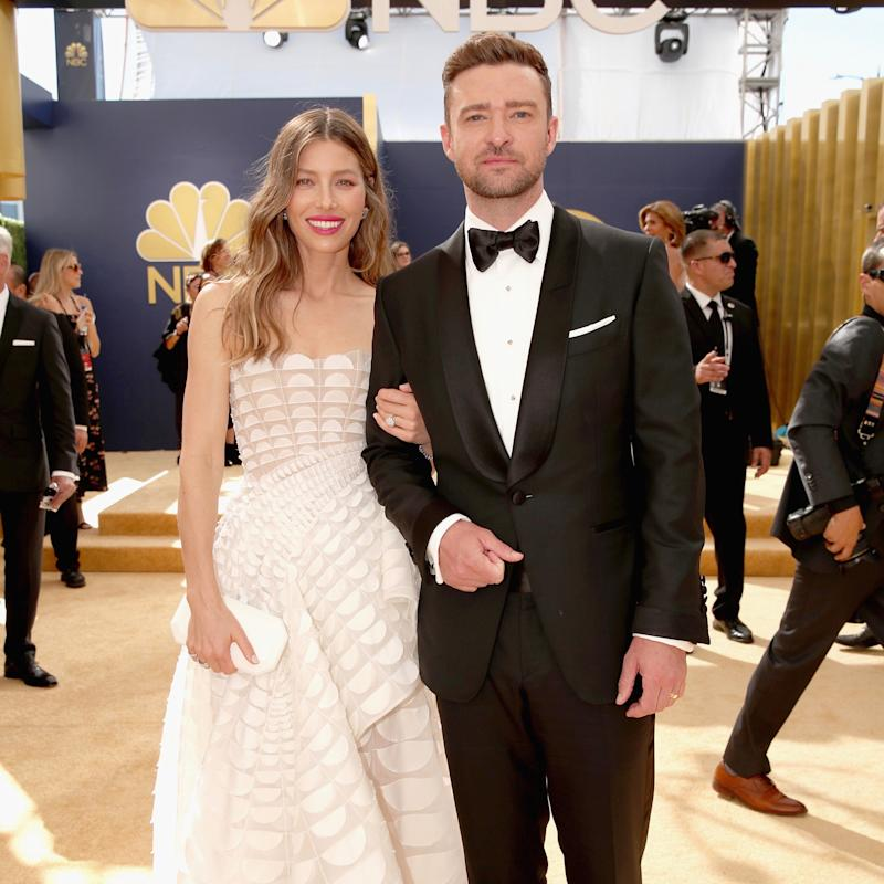 Justin Timberlake Wedding.Justin Timberlake And Jessica Biel Turned The Emmys Into Their