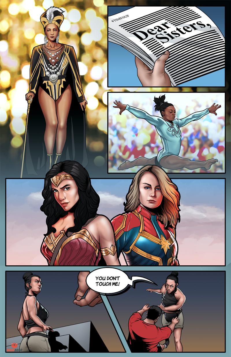 "The ""Real-Life Superwomen Project"" celebrates defining moments made possible by powerful women. (Photo: NerdBear.com)"