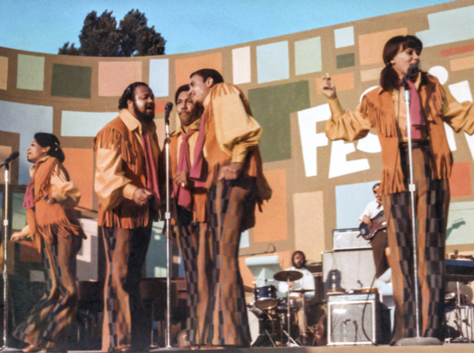 The 5th Dimension perform in 'Summer of Soul' (Fox Searchlight)