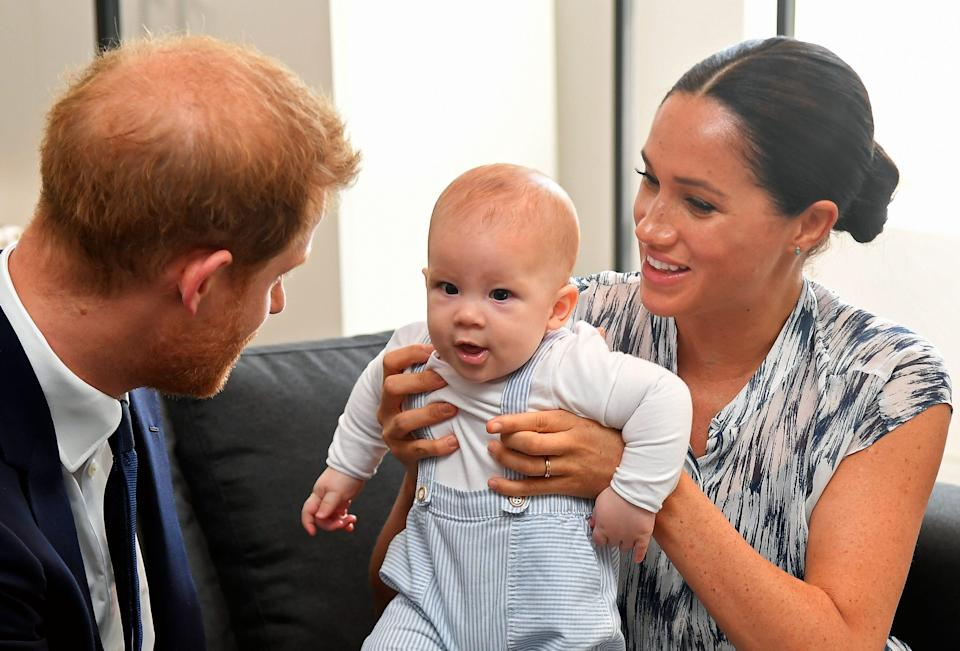 Meghan, Archie, Harry, Africa