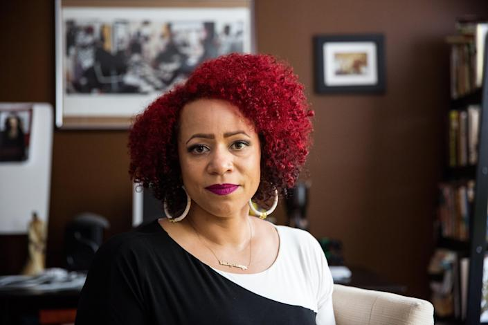 """Nikole Hannah-Jones, lead writer for The New York Times Magazine's """"The 1619 Project."""""""