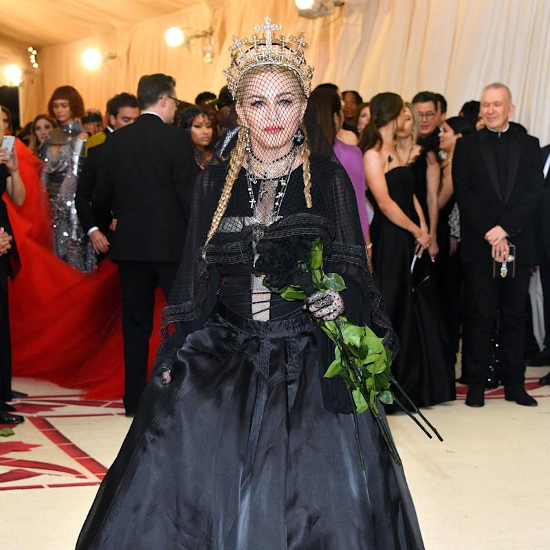 Madonna Goes Full Church Goth in Jean Paul Gaultier at the Met Gala