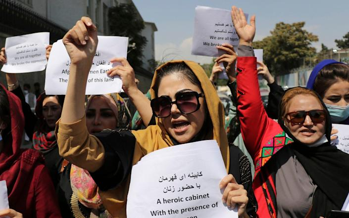 Taliban replaces women's ministry with ministry of virtue and vice and plans new school term without girls - Wali Sabawoon /AP