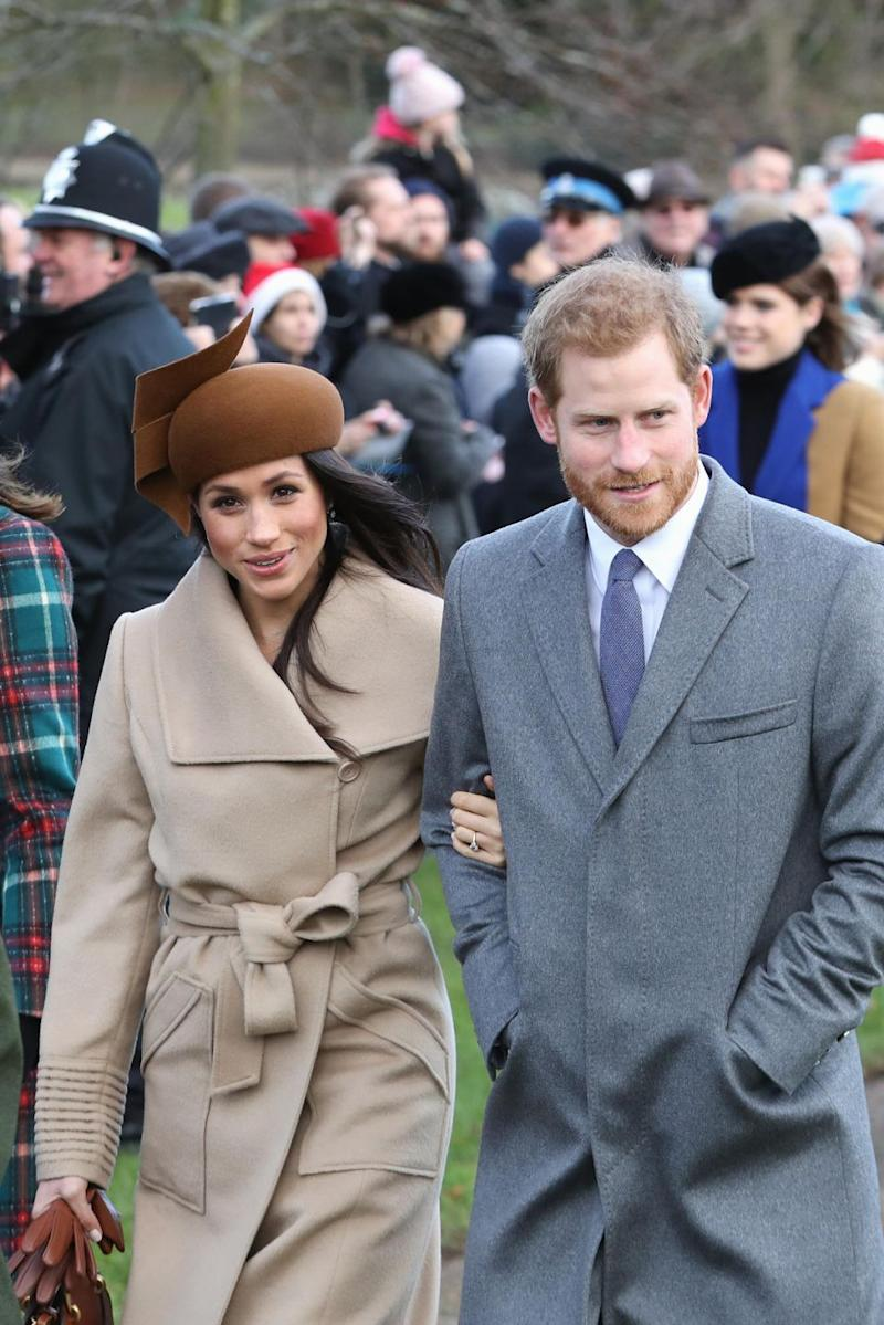 Meghan and Harry are set to tie the knot next May. Photo: Getty