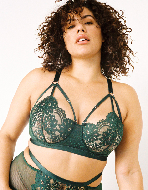 """I know this looks like a wildly uncomfortable bra (underwire and six! bust! straps!), but believe me, it is one of the comfiest I own. The straps (yes, all of them) are thick and supportive but incredibly soft and flexible—I barely notice they sit right on my chest. Lonely Label says this bra is a great option for larger cups, but I have it in a B and it fits so well I fall asleep in it. —<em>Shanna Shipin, commerce editor</em> $110, Lonely Label. <a href=""""https://lonelylabel.com/products/lulu-br5816do?taxon_id=11"""">Get it now!</a>"""