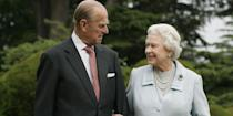 <p>Prince Philip and Queen Elizabeth mark their diamond wedding anniversary in the Fall of 2007 with a visit to Broadlands in New Hampshire. This was also the site of the couple's first honeymoon back in 1947.</p>