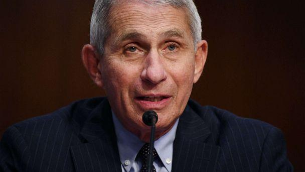 PHOTO: Dr. Anthony Fauci, director of the National Institute for Allergy and Infectious Diseases testifies during a Senate Health, Education, Labor and Pensions (HELP) Committee hearing on Capitol Hill in Washington, D.C., June 30, 2020. (Kevin Dietsch/Pool via Reuters, FILE)