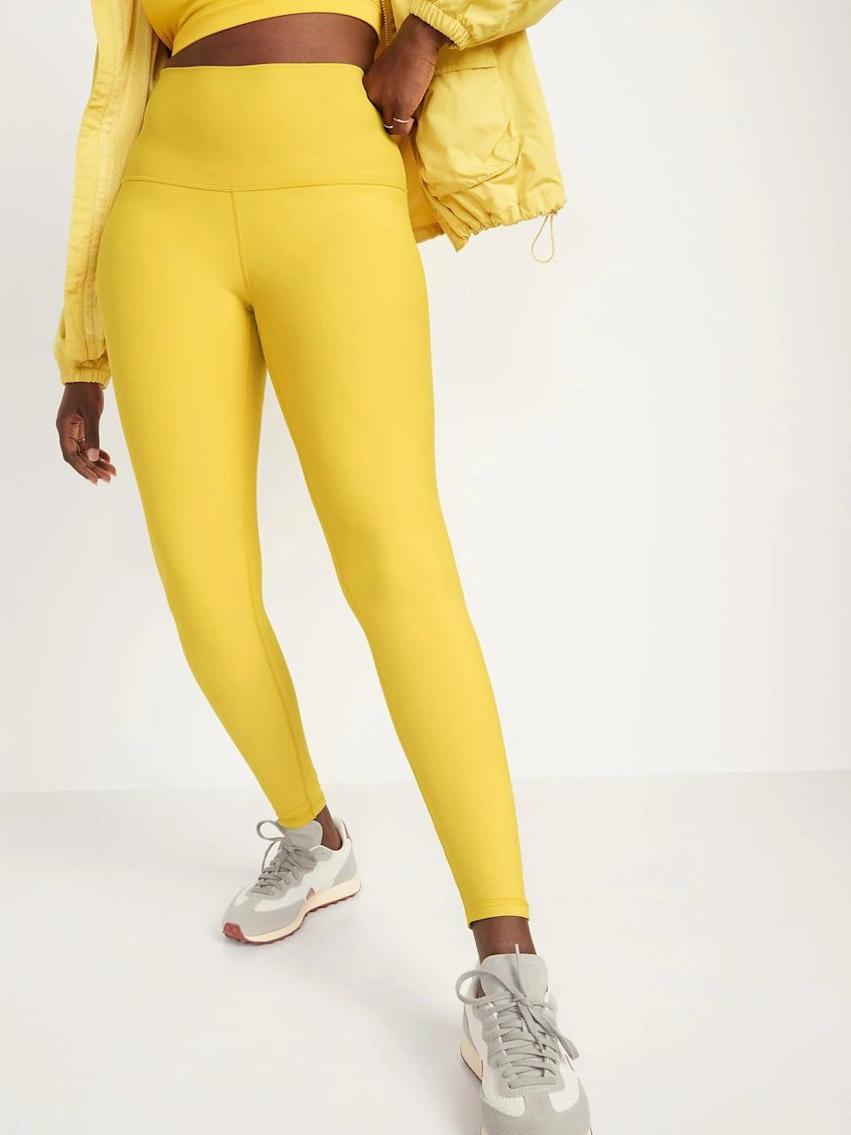 <p>You'll stand out in these bright yellow <span>High-Waisted Hidden-Pocket Leggings for Women</span> ($20-$40, originally $40).</p>