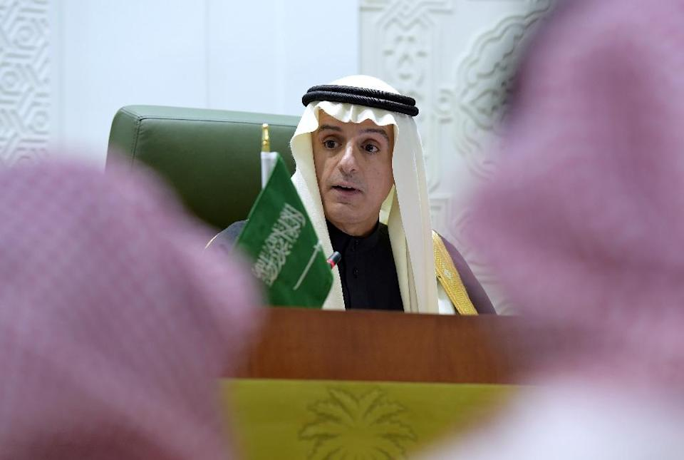 Saudi Foreign Minister Adel al-Jubeir says Riyadh asked Tehran to ensure security at the embassy but they did not cooperate and failed to protect the building from angry protesters (AFP Photo/Ahmed Farwan)