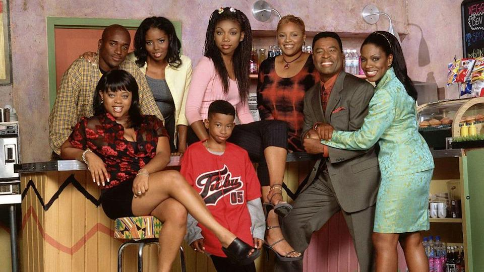 R&B singer Brandy starred in this hit UPN show.
