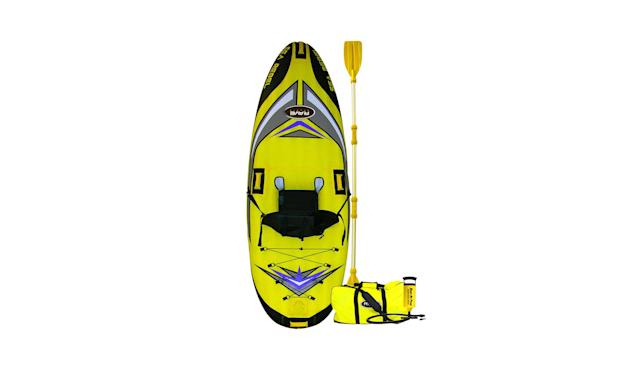 "<p>Sea Rebel Inflatable 1-Person Kayak, $208, <a href=""https://www.kohls.com/product/prd-2169389/rave-sports-sea-rebel-inflatable-1-person-kayak.jsp?prdPV=9"" rel=""nofollow noopener"" target=""_blank"" data-ylk=""slk:kohls.com"" class=""link rapid-noclick-resp"">kohls.com</a> </p>"