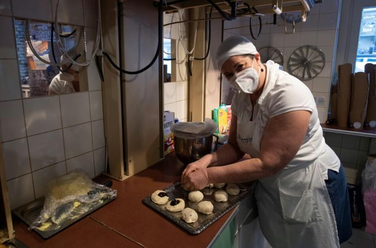 Vienna's Vollpension cafe is a social enterprise where retirees bolster their often meagre state pensions and bake away the loneliness many senior citizens can feel
