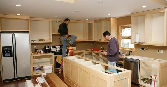 The costs and benefits of remodeling a kitchen for Kitchen cabinets 0 financing