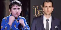 """<p><strong>First Film: </strong><em>Harry Potter and the Sorcerer's Stone</em></p><p><strong>Character Played: </strong>Neville Longbottom</p><p><strong>Age: </strong>30 </p><p>Since Lewis played the awkward, fumbling Neville Longbottom for 10 years in the <em>Harry Potter </em>series, he wowed fans with his <a href=""""https://www.insider.com/neville-longbottom-actor-matthew-lewis-marries-angela-jones-2018-5"""" rel=""""nofollow noopener"""" target=""""_blank"""" data-ylk=""""slk:shirtless Atttiude magazine cover in 2015."""" class=""""link rapid-noclick-resp"""">shirtless <em>Atttiude </em>magazine cover in 2015. </a>The award for best cast glow-up? Definitely this guy.</p>"""