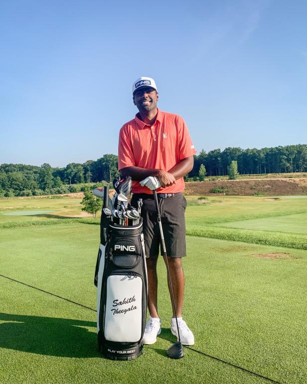 Sahith Theegala, Haskins Award winner, signs with Ping on eve of his first PGA Tour start as a professional