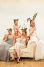 """<p>Pair party attire with animal ears for an easy (<a href=""""https://www.countryliving.com/diy-crafts/g22216730/pun-costumes/"""" rel=""""nofollow noopener"""" target=""""_blank"""" data-ylk=""""slk:and punny!"""" class=""""link rapid-noclick-resp"""">and punny!</a>) last-minute group costume idea.</p><p><strong>Get the tutorial at <a href=""""https://laurenconrad.com/blog/2015/10/hocus-pocus-my-halloween-costume-party-animal/"""" rel=""""nofollow noopener"""" target=""""_blank"""" data-ylk=""""slk:LaurenConrad.com"""" class=""""link rapid-noclick-resp"""">LaurenConrad.com</a>.</strong></p><p><a class=""""link rapid-noclick-resp"""" href=""""https://www.amazon.com/House-Reindeer-Headband-Christmas-Headbands/dp/B01M7VFNGA/?tag=syn-yahoo-20&ascsubtag=%5Bartid%7C10050.g.23785711%5Bsrc%7Cyahoo-us"""" rel=""""nofollow noopener"""" target=""""_blank"""" data-ylk=""""slk:SHOP ANTLERS"""">SHOP ANTLERS</a></p>"""