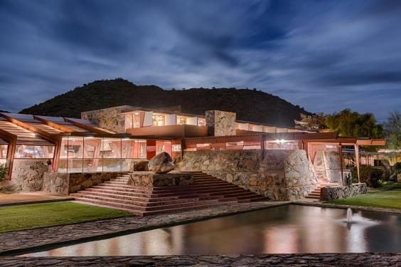 Taliesin is Wright's own estate (Andrew Pielage)