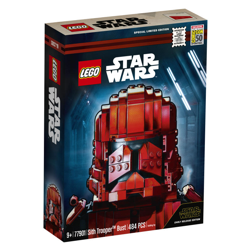 LEGO Star Wars Sith Trooper Bust (Photo: LEGO)