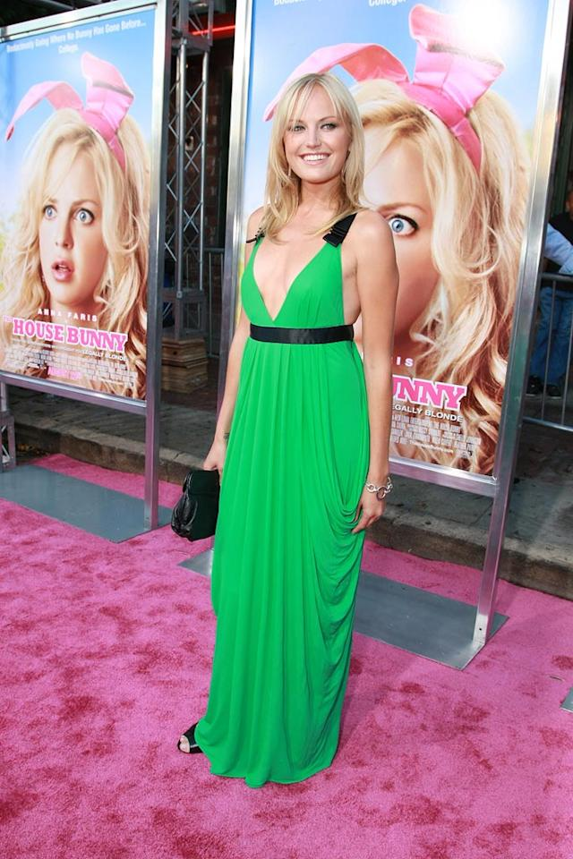 "<a href=""http://movies.yahoo.com/movie/contributor/1808422842"">Malin Akerman</a> at the Los Angeles Premiere of <a href=""http://movies.yahoo.com/movie/1809921361/info"">The House Bunny</a> - 08/20/2008"