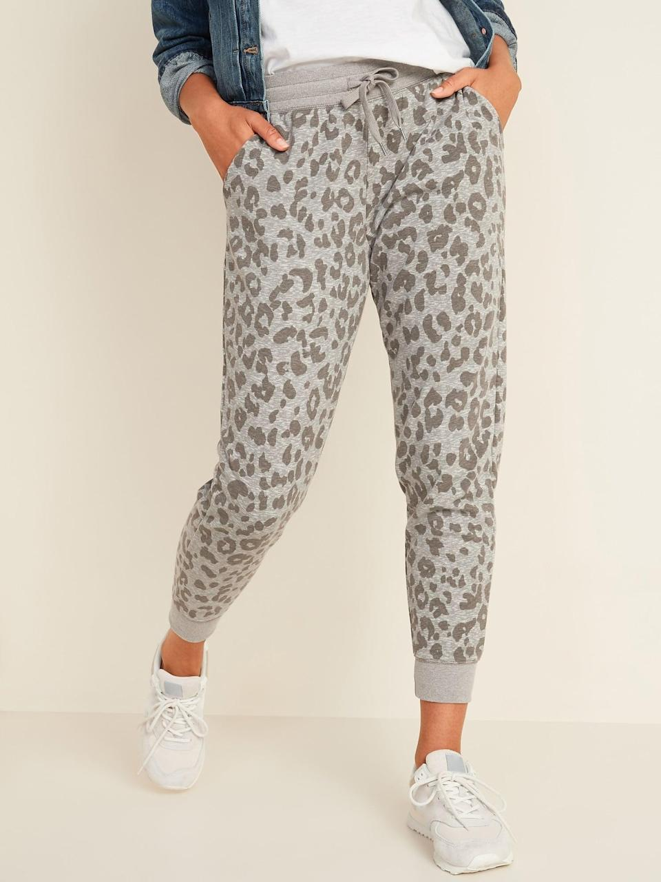 <p>The <span>Mid-Rise Tapered-Leg Jogger Pants </span> ($35) are the perfect option if you want to create a matching set.</p>