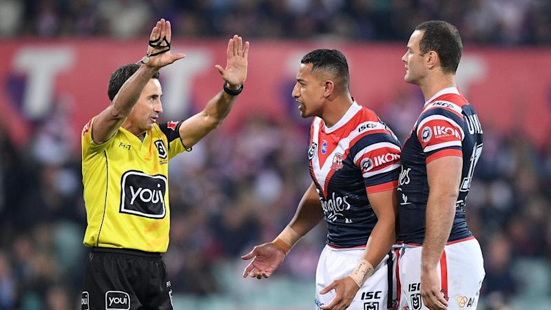 NRL ROOSTERS STORM