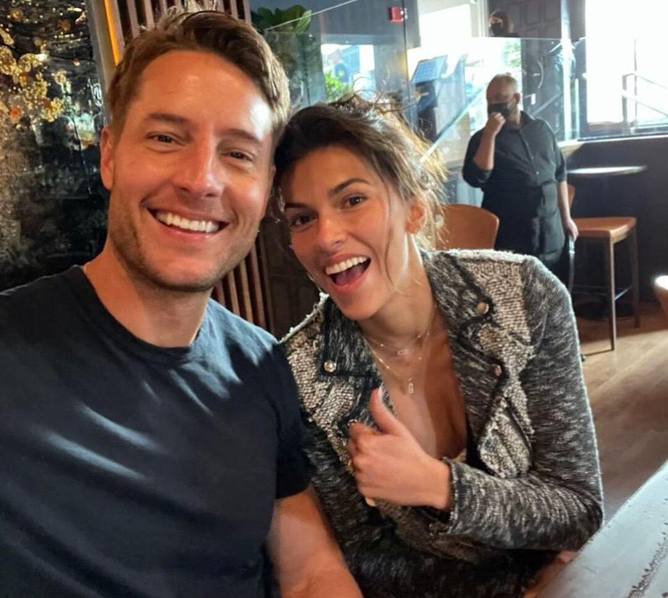 Justin Hartley tribute to wife for birthday Instagram