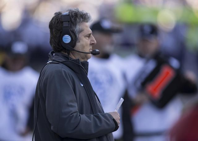 Mike Leach said he heard rumors that Arizona State had equipment to help steal signs. (Getty)