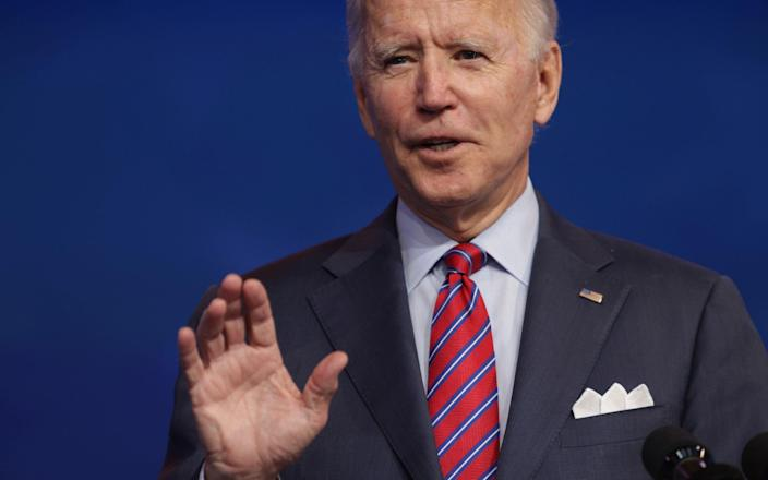 It's been apparent for weeks that Joe Biden won the presidential election - Getty