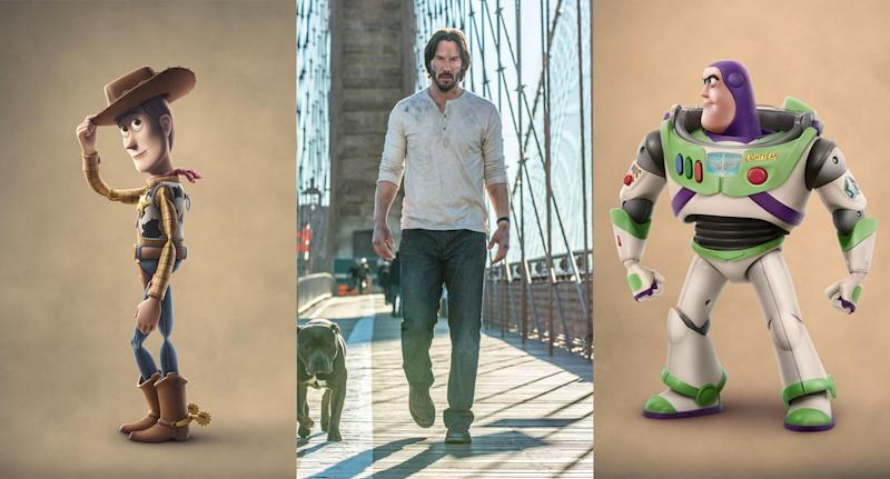 Keanu Reeves has a role in 'Toy Story 4'