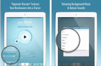 "<p>The Lose Weight Hypnosis app provides daily hypnotic audio sessions at about 22 minutes each, designed to train your mind to reset behaviors for a healthier lifestyle and better eating habits. With background music and a soothing voice, the app allows users to repeat or loop sessions while they sleep, promising results in less than 3 weeks.</p><p>Available on <a href=""https://apps.apple.com/us/app/lose-weight-hypnosis/id576997550"" rel=""nofollow noopener"" target=""_blank"" data-ylk=""slk:iOS"" class=""link rapid-noclick-resp"">iOS</a>.</p>"