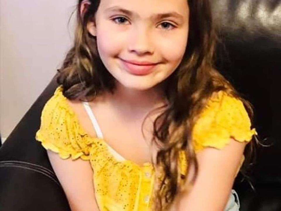 Talia Forrest, 10, died in July 2019 after being struck by a vehicle while she was riding her bicycle on Black Rock Road in rural Cape Breton. (GoFundMe - image credit)
