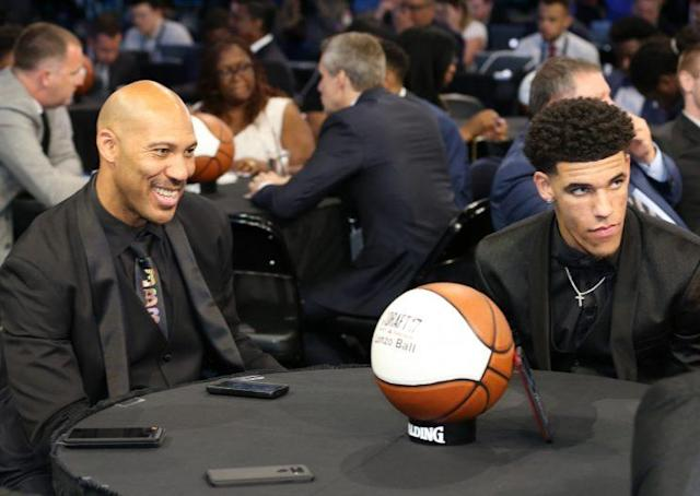 Will LaVar Ball simmer down and just let Lonzo play now that he's been drafted by the Lakers? (Getty)