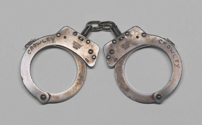 Handcuffs Used In The Arrest Of Henry Louis Gates