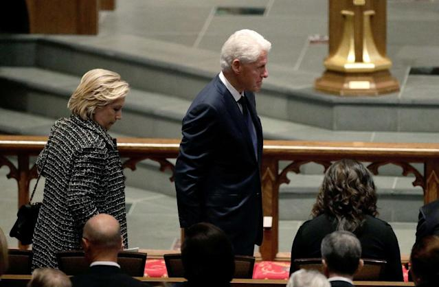Hillary and Bill Clinton (Photo: AP Photo/David J. Phillip )