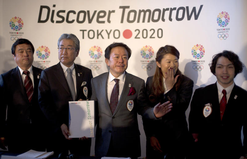 Tokyo opens 2020 Olympic bid campaign in London