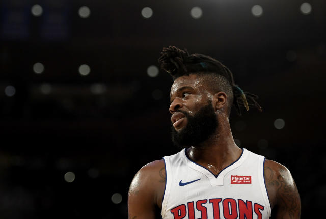 "The Lakers completed a trade to land Detroit's <a class=""link rapid-noclick-resp"" href=""/nba/players/5195/"" data-ylk=""slk:Reggie Bullock"">Reggie Bullock</a> on Tuesday night. (Sarah Stier/Getty Images)"