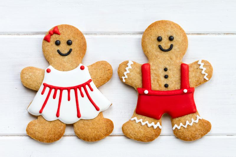 A cafe has rebranded gingerbread men as gender-neutral gingerbread people [Photo: Getty]