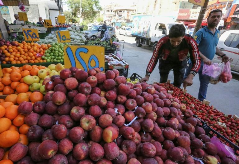 Sixteen million of Iraq's 40-million population living under the poverty line rely on ration cards to buy food