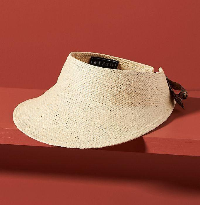 """<p><strong>Anthropologie</strong></p><p>anthropologie.com</p><p><strong>$48.00</strong></p><p><a href=""""https://go.redirectingat.com?id=74968X1596630&url=https%3A%2F%2Fwww.anthropologie.com%2Fshop%2Fpiper-trimmed-visor&sref=https%3A%2F%2Fwww.esquire.com%2Flifestyle%2Fg2121%2Fmothers-day-gift-guide%2F"""" rel=""""nofollow noopener"""" target=""""_blank"""" data-ylk=""""slk:Buy"""" class=""""link rapid-noclick-resp"""">Buy</a></p><p>Finally, this style of hat is, in fact, in style. Moms everywhere who've been rocking it since the late '80s can rejoice with a fresh, straw option—and stay cool through mornings in the garden or afternoons at the beach.<br></p>"""