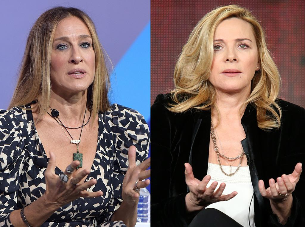 Sex And The City Ladies: Sarah Jessica Parker and Kim Cattrall At War